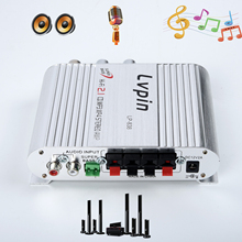 2.1 Car Hi-Fi Stereo Mini Car Hi-Fi Stereo Audio