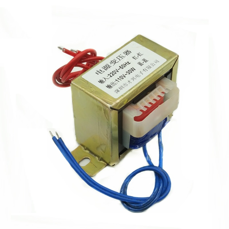Power Transformer 30W 220V to 110V <font><b>30VA</b></font> Isolation 0.27A 2 to 1 Transformer 110V image