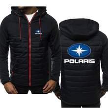 Novos hoodies dos homens polaris logotipo primavera outono casual moletom jaqueta de manga comprida homem com capuz