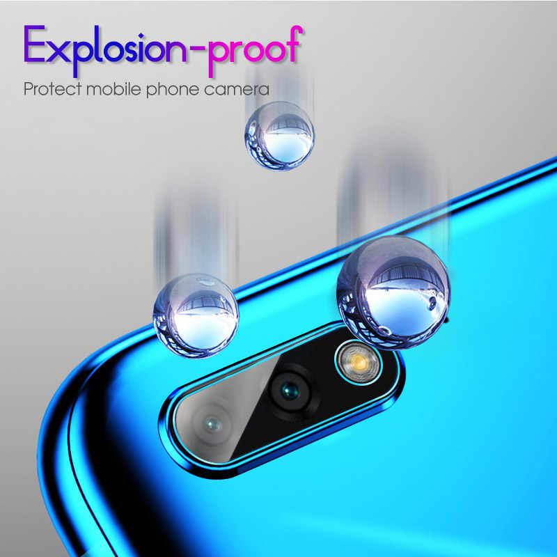 Kamera Len Film untuk Huawei Kehormatan Magic 2 Bermain 9i V10 V20 8X 8C Catatan 9 Lite Soft Anti Gores kamera Pelindung Layar