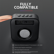 Portable Bluetooth Speaker Mini Wireless Loudspeaker