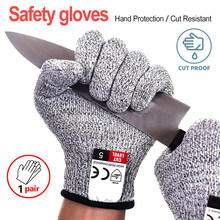 Multi Function Anti Cut Gloves Cut Proof Stab Resistant Stainless Steel Wire Metal Mesh Kitchen Butcher Cut-Resistant Gloves(China)