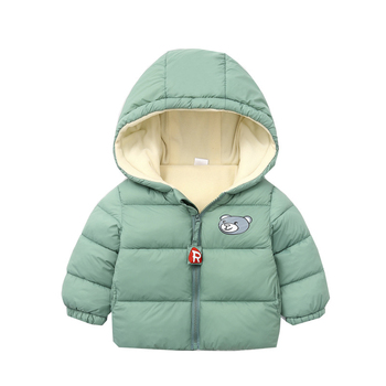 цена на 2019 Winter Boys Thick Jackets Baby Girls Cartoon Down Jacket Hooded Outerwear Children Clothing Kids Warm Coats Baby Boy Jacket