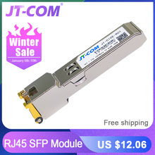 Gigabit RJ45 SFP Module 1000Mbps SFP Copper RJ45 S