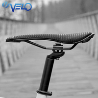 Velo Road Bike Saddle Bicycle Seat Lightweight Ti alloy Rear Bike Seat Gel Cycling Saddle Cycling Racing Bicycle Saddle Seat Men