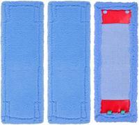 Almofadas de microfibra compatíveis com leifheit mop pano limpador  limpeza absorvente limpa substituição capa Peças p/ aspirador de pó     -