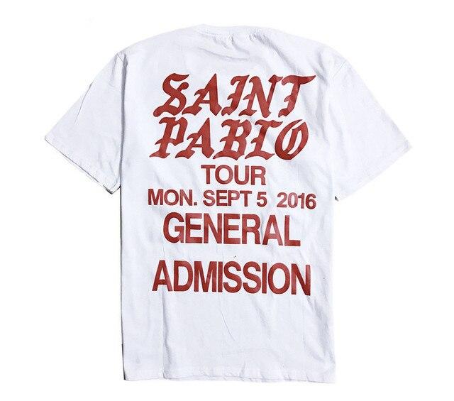 Jesus is King Saint Pablo Tour T shirtS 2