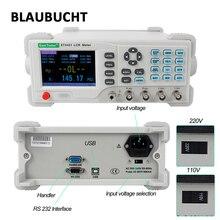 Medidor Digital LCR de escritorio de alta precisión medidor de inductancia de impedancia de resistencia de capacitancia, medidor de puente LCR, envío rápido