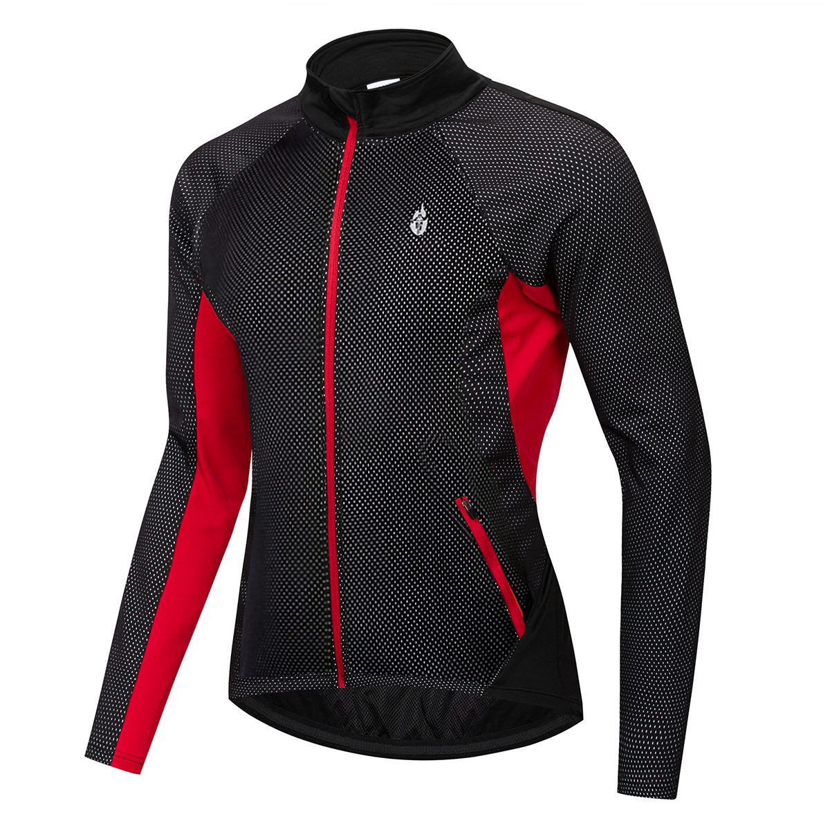 WOSAWE Men's Winter Thermal Windproof Cycling Jacket MTB Bike Bicycle Windbreaker Water repellent Sports Clothing Bicycle Jersey