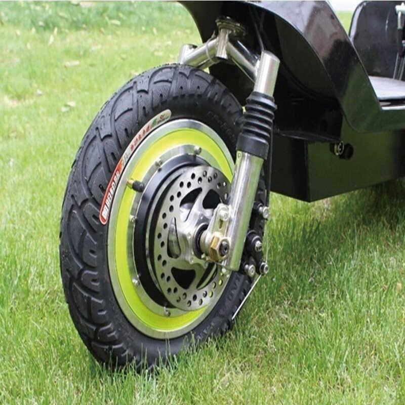 12 cal tylne przednie koła silnik elektryczny silnik bezszczotkowy piasty skuter z silnikiem elektrycznym rower Ebike E-zestaw samochodowy jazda na rowerze