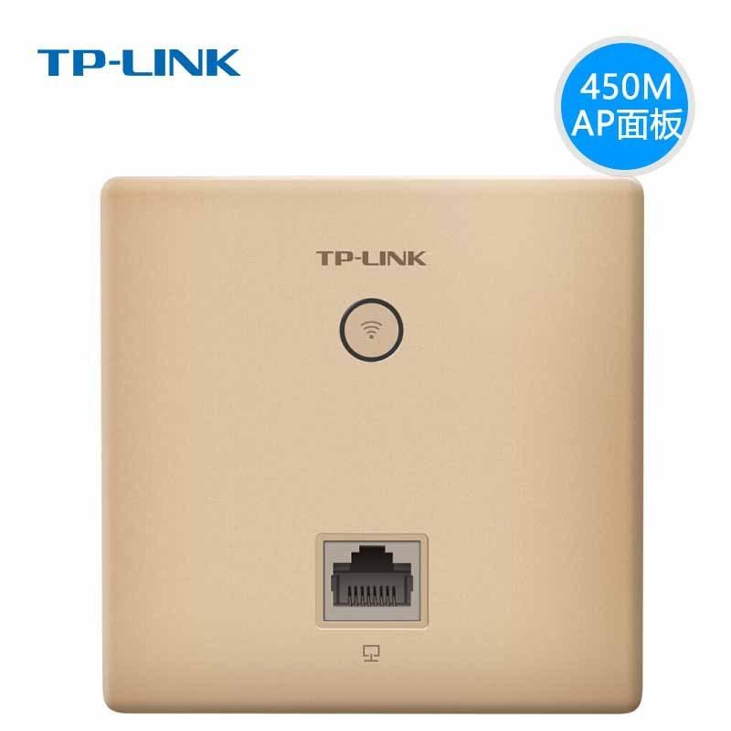 TP-Link Wall-type Wireless Router 86 Type WiFi Breadboard AP Villa Embedded Socket Poe Gigabit Selectable