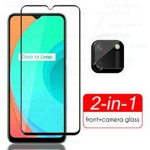 Realmi c11 protetores de câmera de vidro para oppo realme real c11 c 11 11c vidro protetor em realmec11 rmx2185 6.5 cover film capa de filme