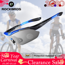 RockBros Polarized Cycling Sun Glasses Outdoor Sports Bicycle Glasses Men Women
