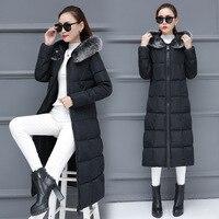 Fur Hood Loose Winter Long Coat For Women Parka Feminina Plus Size Puffer Warm Jacket Female Harajuku Coats Outerwear Snow Wear