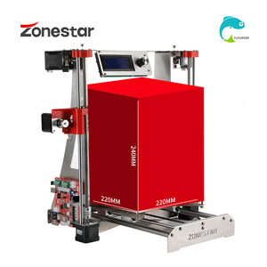 Image 5 - Hot Sale Dual Extruder Stainless Steel Frame Open Source Optional Auto Level Laser Engraving Cheap 3D Printer DIY Kit Free Ship