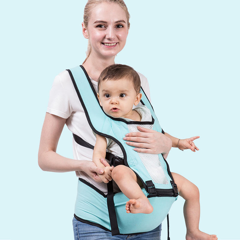 2019 Front Facing Baby Carrier Breathable Comfortable Sling Backpack Newborn Waist Hipsit Pouch Wrap Kangaroo Carrying Child