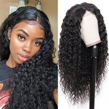 30 дюймовые волнистые кружевные передние человеческие волосы