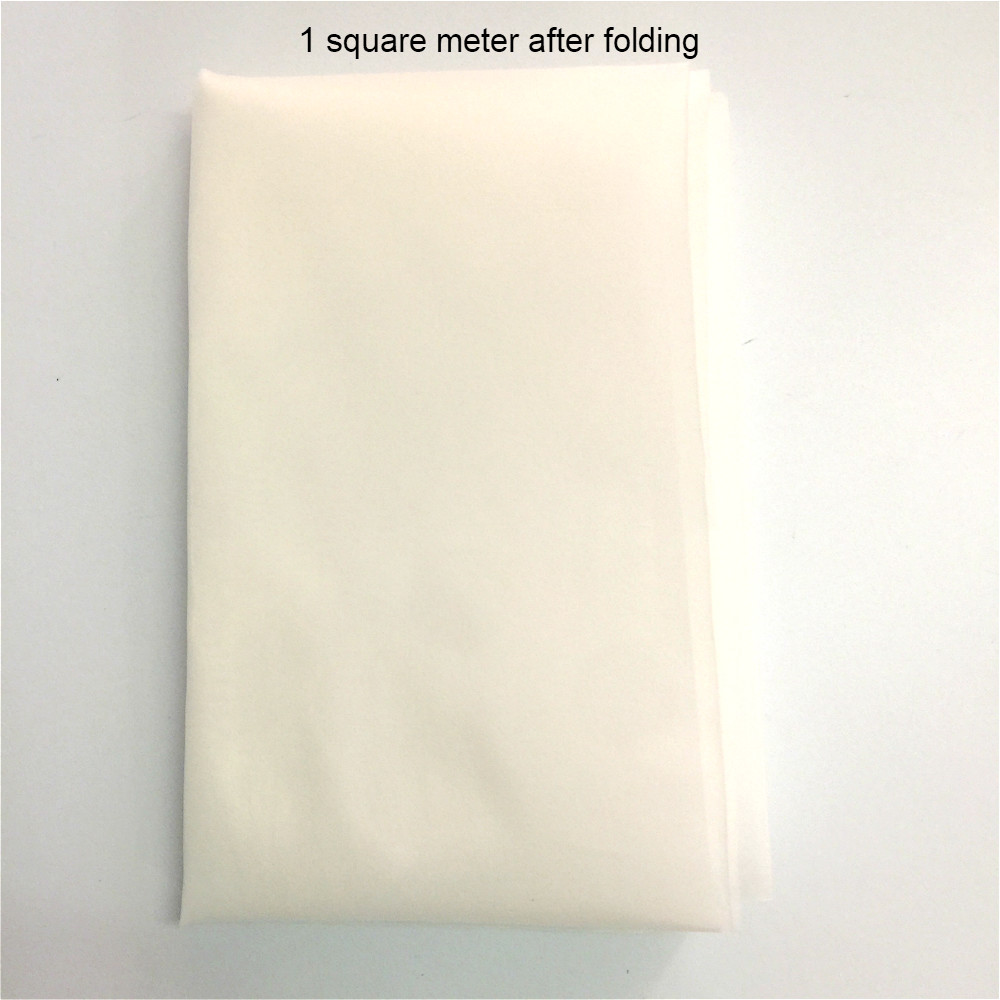 Купить с кэшбэком Nylon Filter Cloth 280 Mesh/In 50 Micron Gauze Water Soya Bean Paint Screen Coffee Wine Net Fabric Industrial Filter Mesh 1m*1m