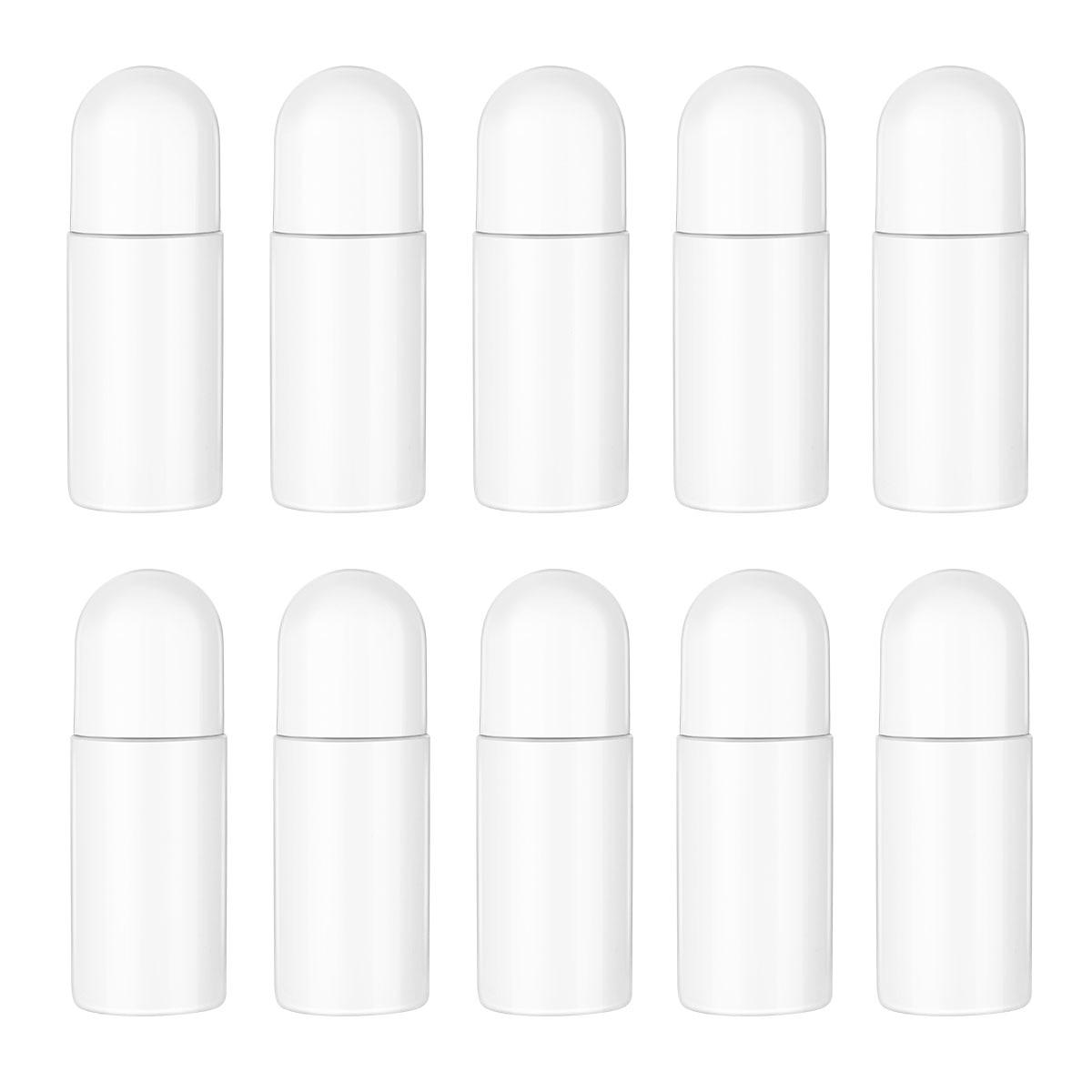 10 шт., пластиковые бутылочки для эфирных масел, 50 мл