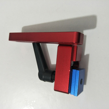 Скользящий слот деревообрабатывающий портативный DIY простой в использовании Т-образный инструмент Профессиональный алюминиевый сплав прочный стопор