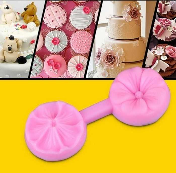 1Pc Combinação Flores Bolo Molde Do Bolo DIY material de Cozinha Molde de Silicone Ferramentas de Cozimento Fondant de Decoração Do Bolo