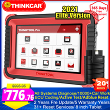 Thinkcar Thinktool Pro pełne systemy profesjonalne narzędzie diagnostyczne ECU kodowanie brelok programowanie Adblue 31 + resetowanie skanowania samochodowego