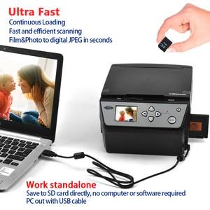 Image 4 - 22 Megapixels 4 In 1 Combo Foto En Digitale Film Scanner 135 Negatieve Converter Foto 35 Mm Film Scanner business Card Scanner