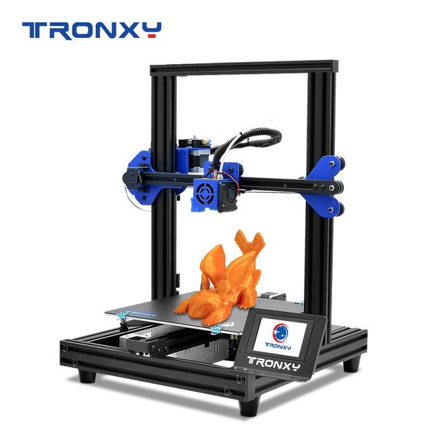 TRONXY 3D Printer XY 2 PRO 3D Printer Large Size I3 255*255 Hotbed V slot Resume Power Failure Printing FDM printing 3D Drucker
