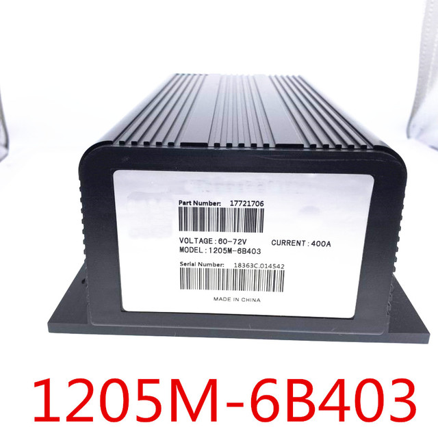 60V 72V 1205M 6B403 PMC 400A DC Series Motor Controller 1205M 6401 6B401 for Curtis replacement parts