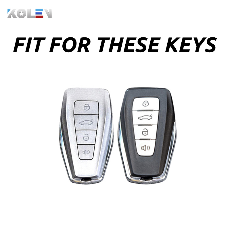 cheapest TPU Leather Car Key Cover For VW Volkswagen Magotan Passat B8 Skoda Superb Kodiaq A7 Smart Keychain Remote Fob Protector Case