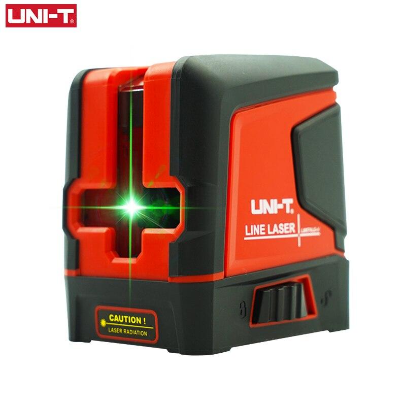 UNI-T LM570LD-II 2 Lines Laser Level Green Beam Self-Leveling Vertical Horizontal Cross Line Layout Measuring Instrument