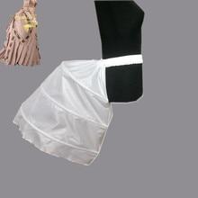 Юбка в стиле барокко, специальная Женская юбка пачка, платье барокко 3, три обручи из кринолина, Нижняя юбка, свадебные аксессуары, в наличии