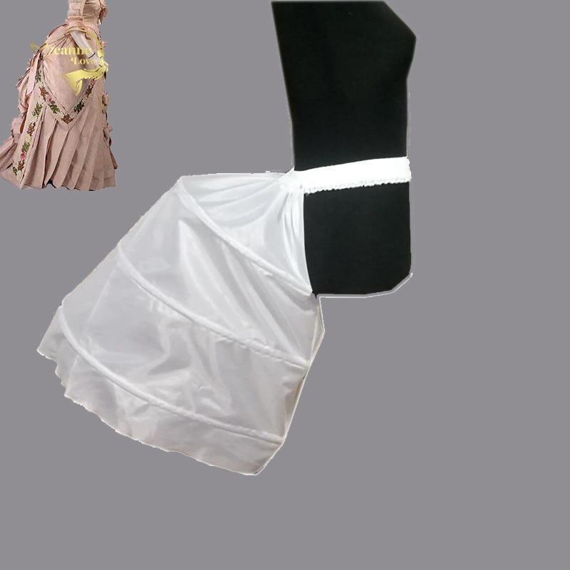 Baroque Hip Skirt Slip Womens Special Petticoat For Baroque Dress 3 Three Hoops Crinoline Underskirt Wedding Accessories Stock