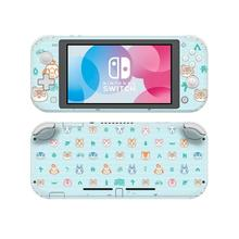 Vinyl Cute Screen Skin Animal Crossing Protector Stickers for Nintendo Switch Lite NS Console Nintend Switch Lite Mini Skins vinyl screen skin sticker laurel dog skins protector stickers for nintendo switch ns console controller stand sticker
