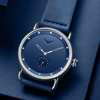 New top brand fashion casual simple men watch male wristwatch sports clock leather waterproof quartz watch men relogio masculino