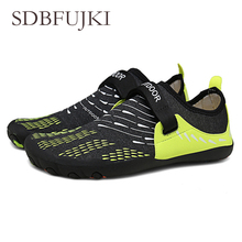 Summer Water Shoes Women Aqua Beach for Couples Fashion Men Sandals and Slip-resistant Diving