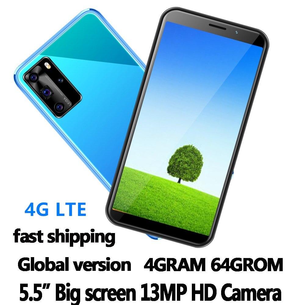 4 аппарат не привязан к оператору сотовой связи P30 Pro смартфонов 64G Встроенная память 4G Оперативная память quad core 5,5 дюймов 13mp celulares android Мобильн...