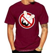 T-Shirt lapin RAVING, crétin, Taille XL