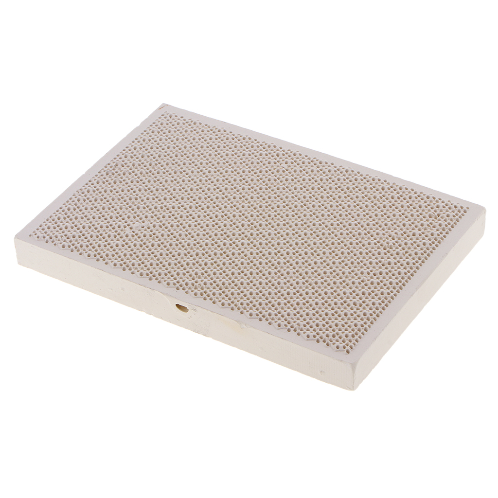 Ceramic Soldering Solder Block Plate Jewellers  Proof Board With Hole Jewelry Making Board Tool