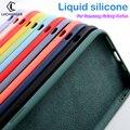 Оригинальный силиконовый чехол карамельных цветов для телефона samsung galaxy A10E A20E galaxi A7 2017 2018 C9 Pro C5 C7, матовые мягкие чехлы из ТПУ