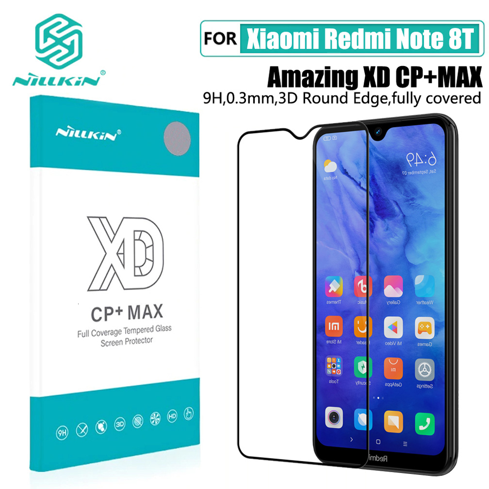 For Xiaomi Redmi Note 8 NOTE 8T Nillkin Tempered Glass H / H+Pro XD 3D CP +Pro Screen Protector For Xiaomi Redmi Note 8 Pro