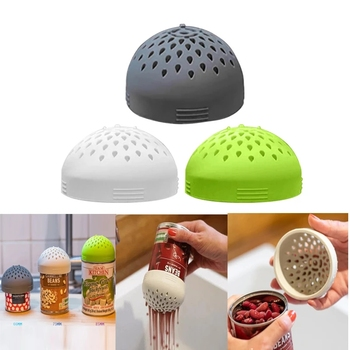 Multi-use Mini Silicone Colander For Fast Fuss-free Cooking The Micro Kitchen Colander Cleaning Strainer Drainage Accessories image