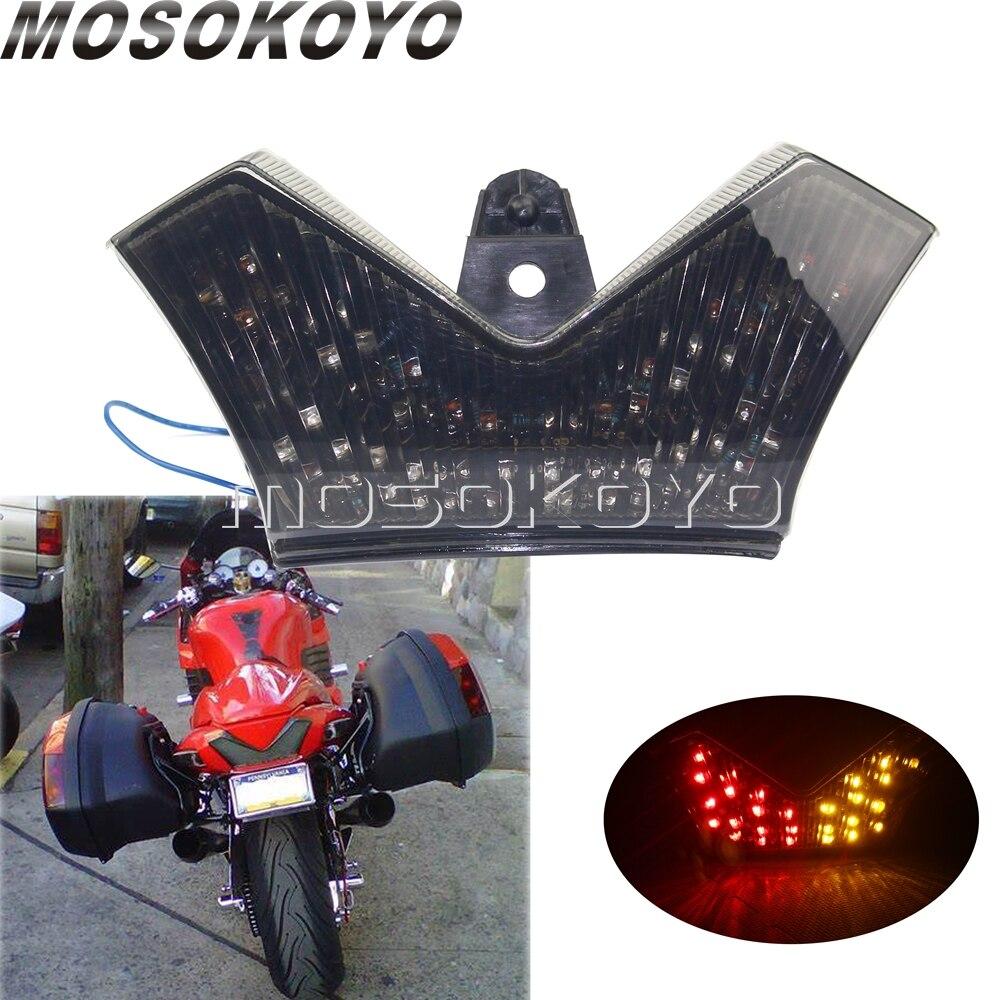 ZX1400 ZZR1400 Smoke LED Tail Light Integrated with Turn Signals For 2010 Kawasaki Ninja ZX-14