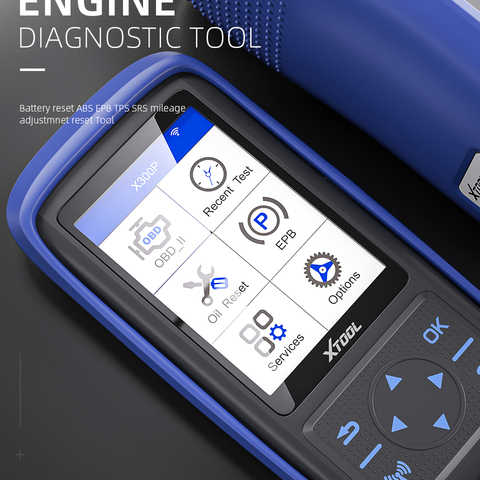 XTOOL X300 P OBD2 Automotive scanner engine Diagnostic tool Battery reset ABS EPB TPS SRS mileage adjustmnet reset Tool upgrade Pakistan