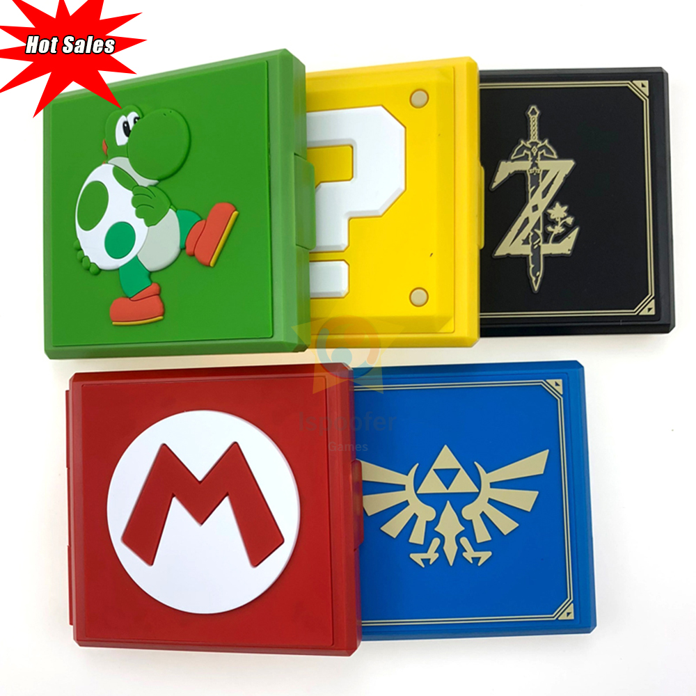12in1 for Nintend Switch Shockproof Game Cards Case Nintendos Switch Hard Shell Box for Nitendo Switch Games Storage Accessories