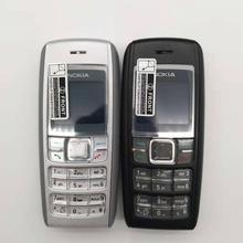 1600 Nokia 1600 сотовый телефон двухдиапазонный GSM разблокированный телефон GSM 900/1800 отремонтированный