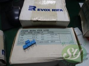 Image 2 - 20PCS החדש EVOX PFR5 100PF 63V P5MM MKP 101 סרט EVOX RIFA PFR 100P 0.0001 uf/63 v 0.1NF 63VDC 101/63V