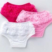 Ruffle Shorts Toddlers Underwear Diaper-Cover Bloomers Newborn-Pants Baby-Girls Kids