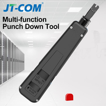 110 Type Punch Down Tool Multi-function Network Cable Module Tool  with Two Blades Telephone Impact Terminal Insertion Tools