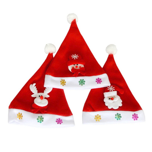 New Christmas Hats Adults Children Costume Santa Claus Snowman Reindeer Hat Navidad Christmas Decoration For Home New Year 2020